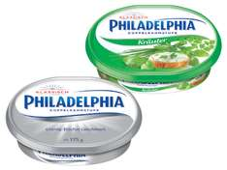 [Lidl] PHILADELPHIA Frischkäse Aufstrich für 0,79€