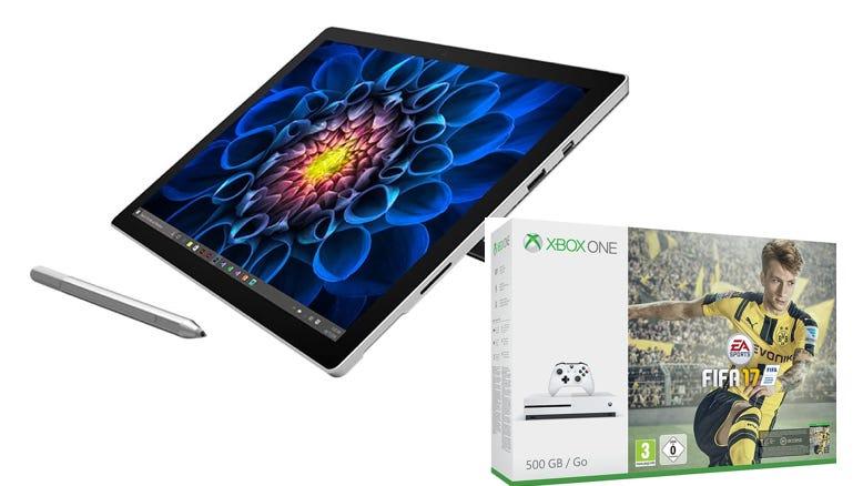 [Amazon UK] Surface Pro 4 oder Surface Book kaufen und Gratis Xbox One S ( inkl FIFA 17) bekommen