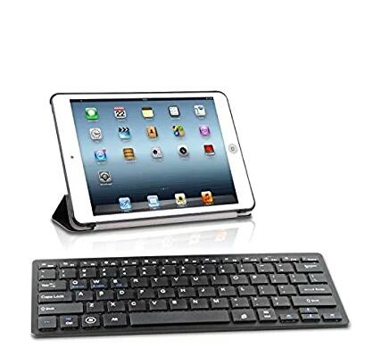 V7 Bluetooth slim Tastatur für iPad und Android