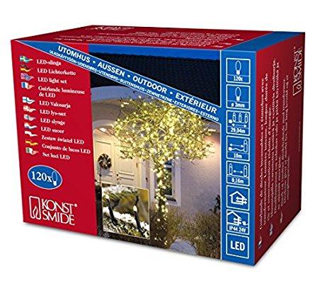 Konstsmide Micro LED Lichterkette 120 & 200 LEDs