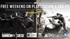 [PC][PS4] Rainbow Six Siege bis 13./14. November gratis spielen