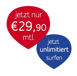 UPC Mobile LTE Unlimited (unlim. Daten, min/sms) für UPC Kunden