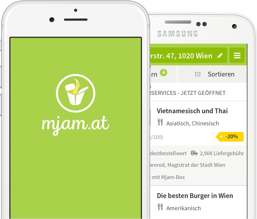 [mjam] Einige 3€ Mjam Gutscheincodes ohne MBW - gültig bis 8.1.2017