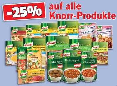 [Lidl] 25% auf alle Knorr-Produkte
