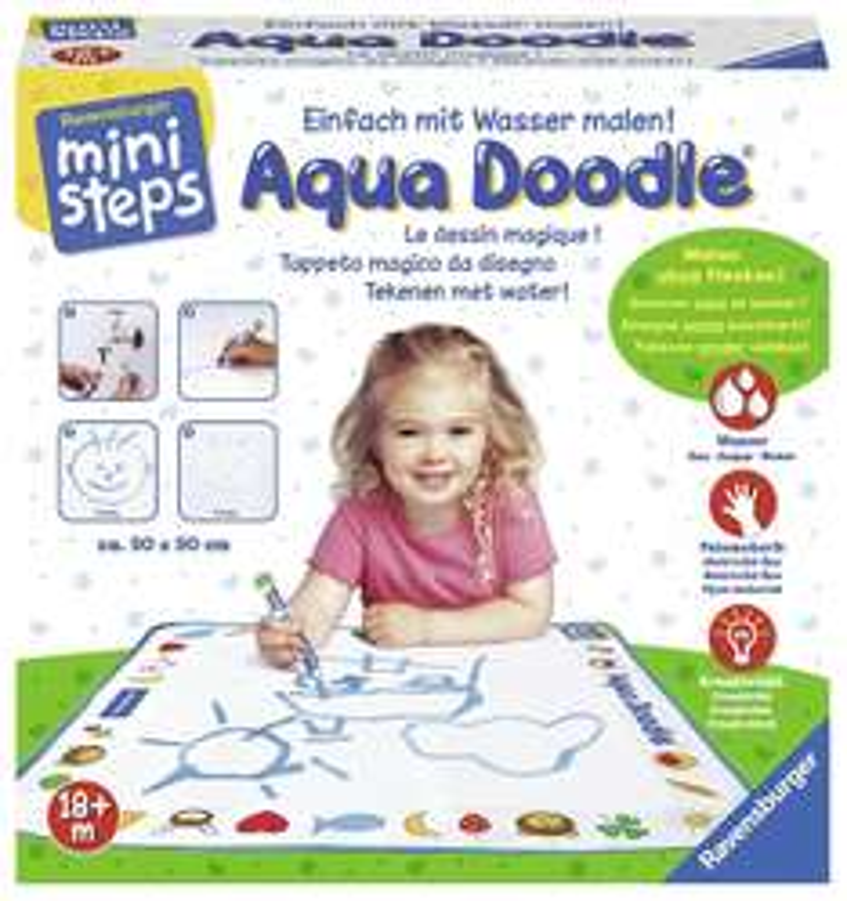 [Amazon Prime] Ravensburger 00489 - ministep Aqua Doodle für 13,39€