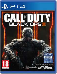 Call of Duty: Black Ops 3 (PS4, XBox One) um 25€ @Amazon