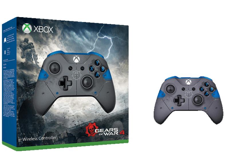 Saturn/LogoiX: Xbox Wireless Controller (Gears of War 4 JD Fenix Limited Edition) um 42 € - 21% sparen