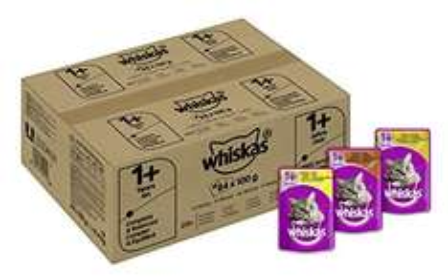 [Amazon] Angebot des Tages, Whiskas Katzenfutter in Portionsbeutel