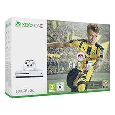 [Amazon.de]Xbox One S 500GB Konsole - FIFA 17 Bundle um 239€