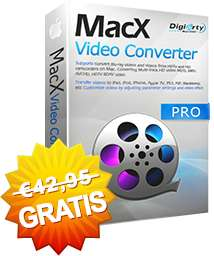 Black Friday Giveaway: MacX Video Converter Pro 6.0.1 (Neues Interface!)