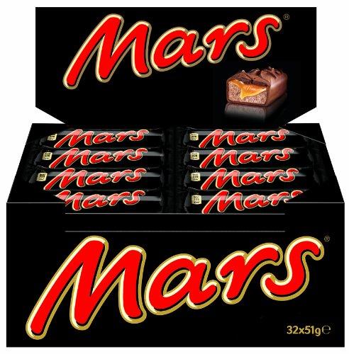 32 Mars Riegeln (32 x 51g) um 10,36€