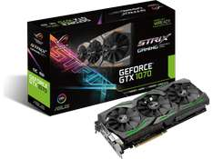 [MediaMarkt.at] ASUS GeForce® GTX 1070 Strix Gaming, 8GB GDDR5 (90YV09N0-M0NA00) um 444€ inkl Watch Dogs 2  Update: bei amazon.fr um 411,10€ inkl Versand nun