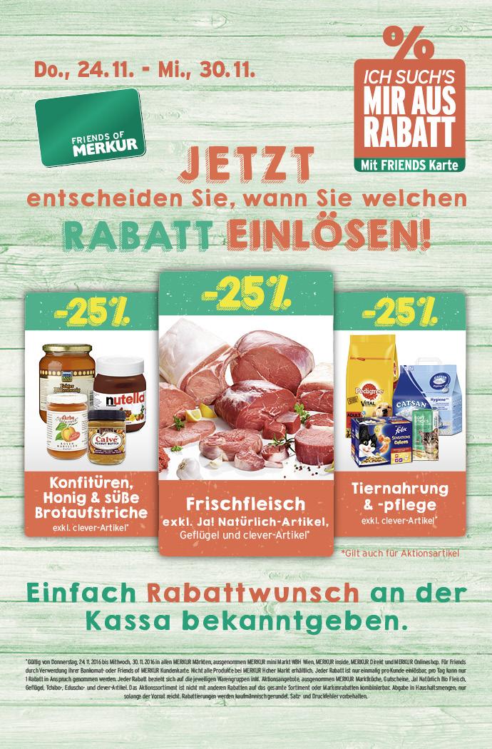 Lebensmittelhandel Angebotsübersicht 24.11.2016 - 30.11.2016