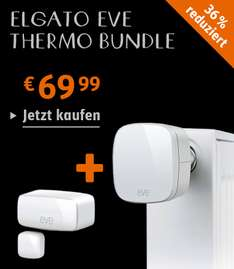 Elgato Eve Thermo + Elgato Eve Door & Window