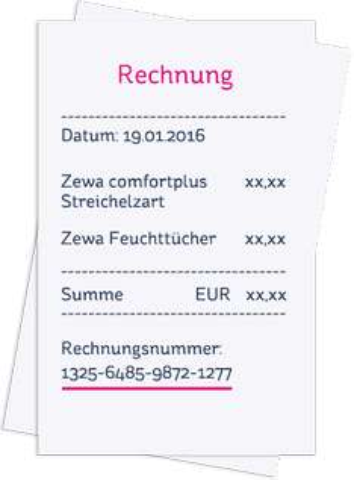 GRATIS - Zewa Klopapier bzw. feuchte Toilettentücher - Geld zurück AKTION - bis EUR 4,99 sparen