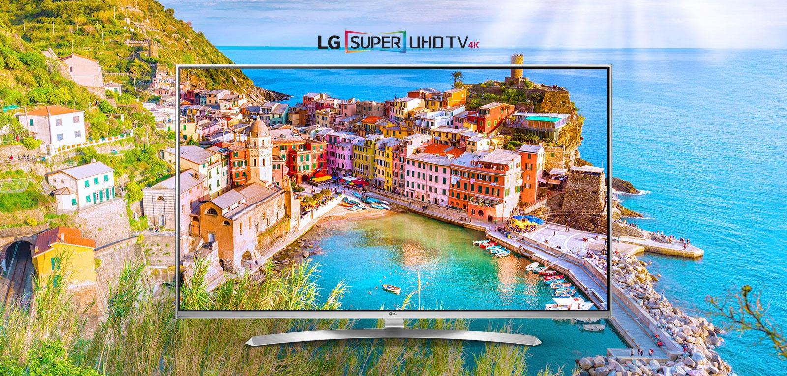 iBood: LG Electronics 49UH850V Super UHD HDR IPS 4K Smart-TV für 908,90€