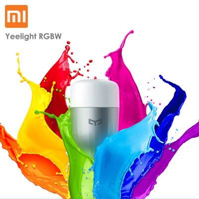 [Gearbest] Xiaomi Yeelight RGBW E27 Smart LED Bulb für 7,57€