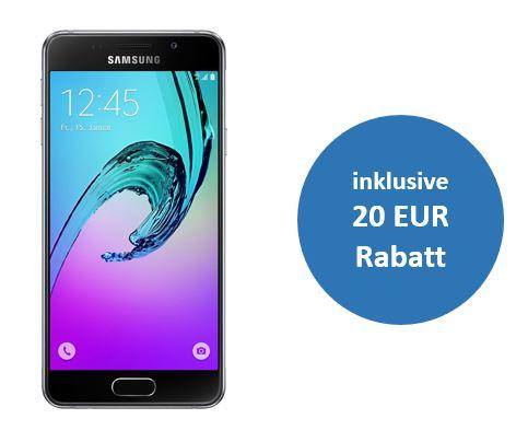 Samsung Galaxy A3 (2016) für 169 € dank Aktion
