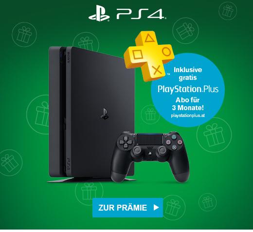 (Info) My McDonalds: Sony PlayStation 4 Slim (500 GB) + 3 Monate PS Plus um 150 € + 100 Ms