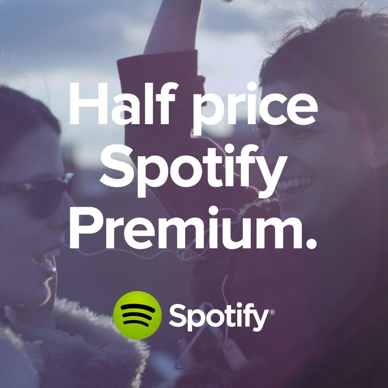 Spotify Student - Premium für nur 4,99€im Monat