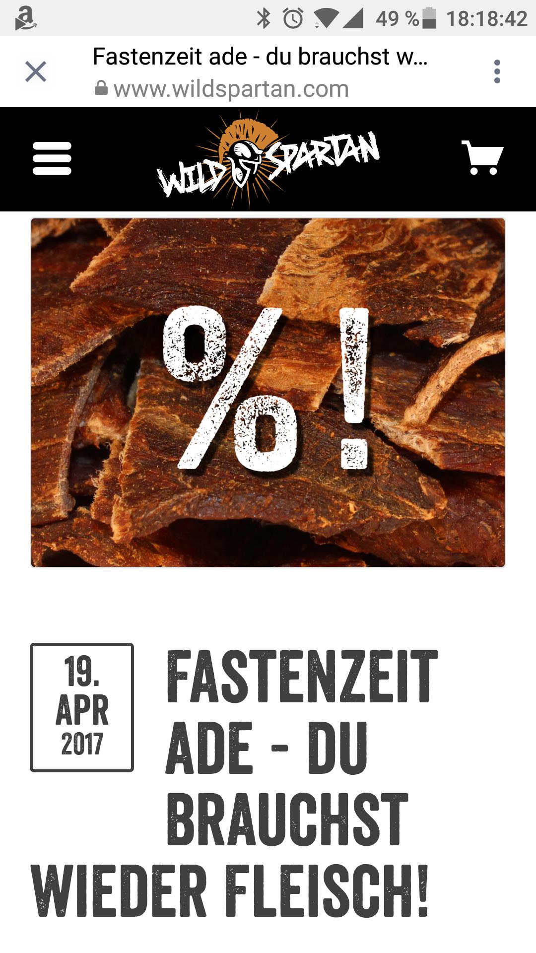Beef jerky aus Österreich (limitierte Stückzahl)