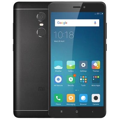 Xiaomi Redmi Note 4 LTE + Dual-SIM global (5,5'' FHD IPS, Snapdragon 625 Octacore, 3GB RAM, 32GB eMMC, 13MP + 5MP Kamera, inkl. Band 20, 4100mAh, Android 6) für 129,59 € [Gearbest]
