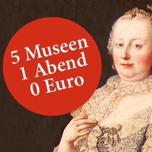 5 Museen in Wien - 1 Abend - 0 Euro - Nur am 1. Juni zwischen 18:00 - 21:00 Uhr