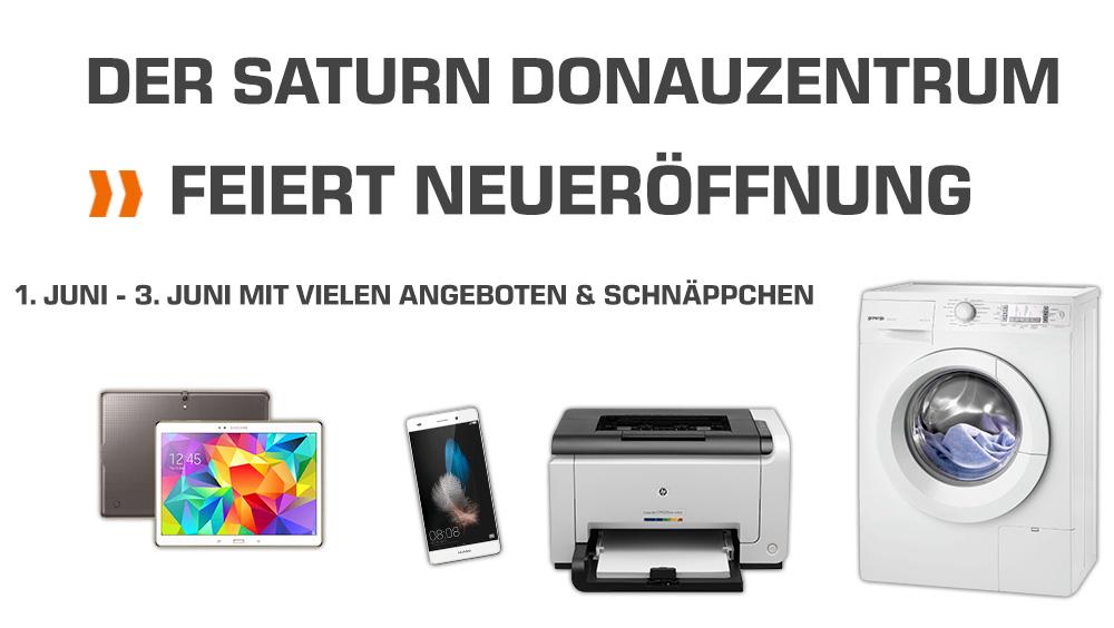 (Info) Saturn Donauzentrum Wien - Neueröffnung am 1. Juni 2017