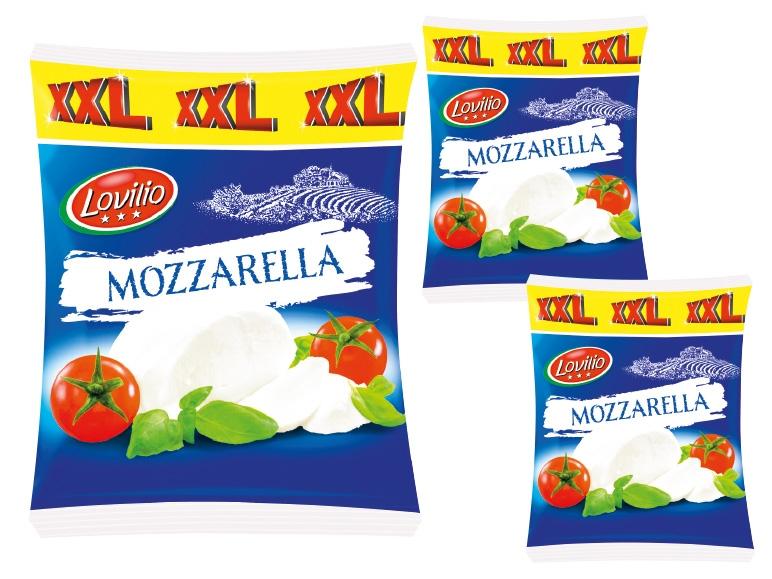 Lidl - günstige Mozzarella