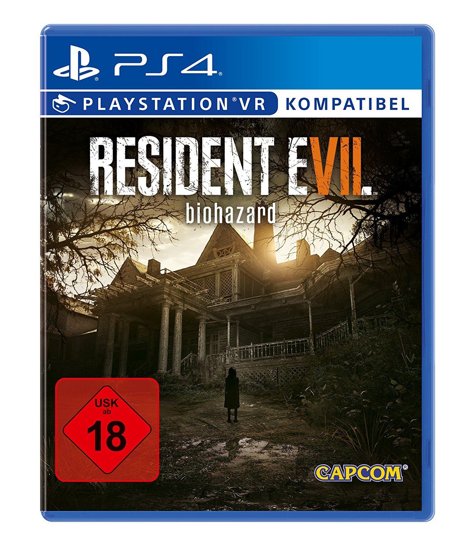 [www.AMAZON.de] Resident Evil 7 Biohazard - [PlayStation 4]  für € 30,30 VGL bei € 50,--