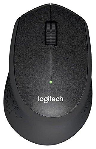 Amazon.de: Logitech M330 Silent Plus, kabellose Maus in schwarz für 17€
