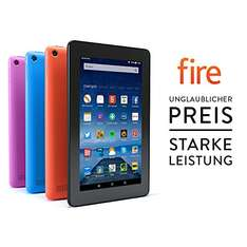[Amazon.de] Fire-Tablet, 17,7 cm (7 Zoll) Display, WLAN, 8 GB (Schwarz) zum Bestpreis