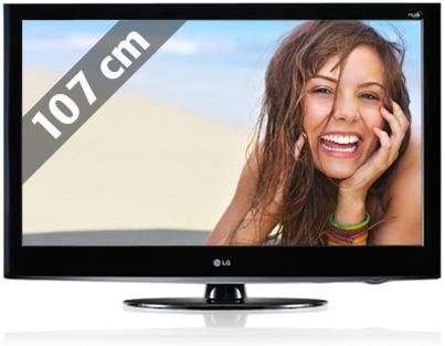 "42"" FullHD LCD LG 42LH3800 für 535€"