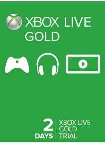 Xbox Live Gold 2 Days Trial für 0,89€ (SCDKey)
