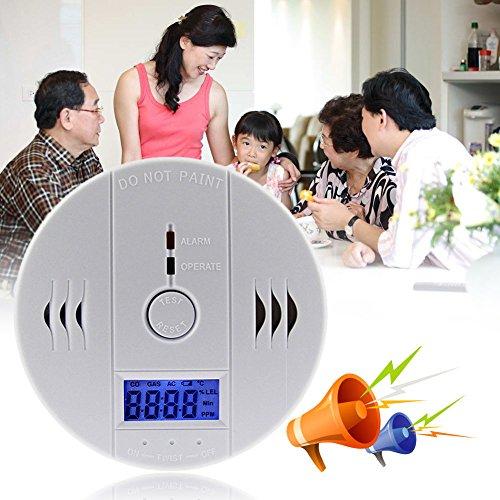 amazon Prime: Kohlenmonoxid Melder Kohlenmonoxid-Alarm LED Display --> 5,99 € statt 19,99 €