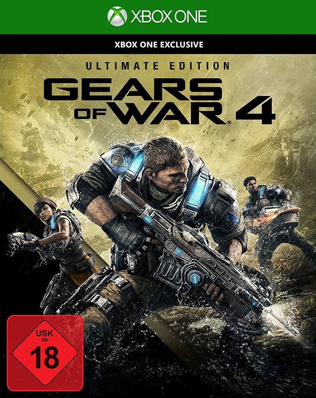 [Mediamarkt] Einige Xbox Spiele reduziert. Zb. Gears of War 4 Ultimate Edition für 25,-€ oder Sunset Overdrive für 5,-€ und weitere