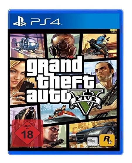 Amazon.de: GTA 5, PS4, für 21 €