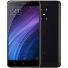 Xiaomi Redmi Note 4 4G Phablet  -  GLOBAL VERSION 3GB RAM 32GB ROM  BLACK