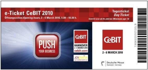 CeBIT 2011 Aktionscode für kostenlose e-Tickets *UPDATE*