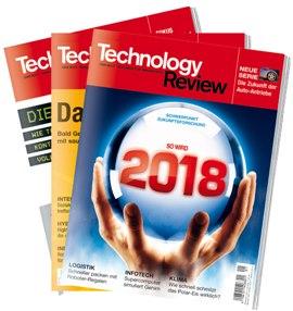 [Zeitschrift] 3x Tech Review kostenlos und unverbindlich