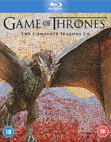 [Zavvi] Game of Thrones - Staffel 1-6 Box (Blu-Ray) für 81,78€