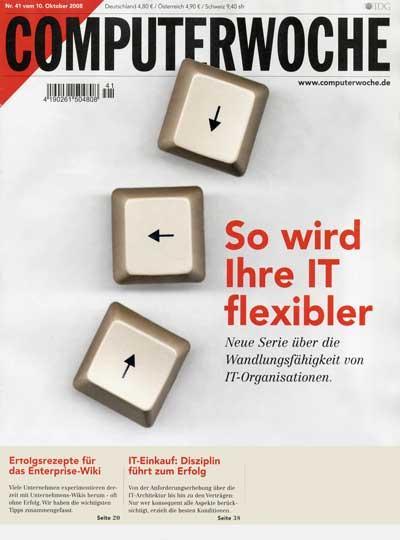 [Zeitschrift] 4 Wochen Computerwoche kostenlos und unverbindlich