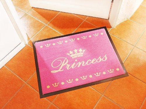 [www.AMAZON.de] Aufgepasst Ladies nur für euch:  Fußmatte Schmutzfangmatte Princess pink 40x60 cm PVG liegt sonst bei € 20,-- inkl. Kostenlosern Versand für Prime Kunden