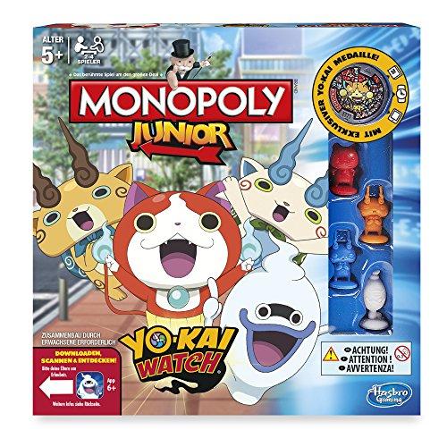 Amazon.de: Hasbro Monopoly Yokai Watch Junior um 4,44€ (Plus Produkt)