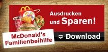 Neue McDonald's und Burger King Gutscheine für Österreich
