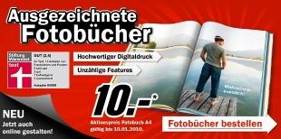 24 Seiten A4 Fotobuch für 10€ bei MediaMarkt Deutschland