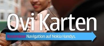 Ovi Navigation für Nokia Handys ab jetzt kostenlos (mit 70 Ländern)