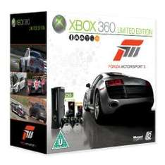 XBox 360 250GB mit 2 Controllern + Forza 3 für 239€ bei Amazon.co.uk