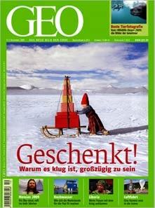 Jahresabo GEO für 7,80€ *Update* Jetzt die DVD-Version auch für 7,80€