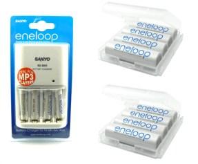 Super-Akkus: Sanyo Eneloop (8xAA + 4xAAA) inkl. Ladegerät für 20€! *UPDATE* jetzt für 25€ - nur noch kurze Zeit